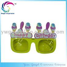 Novelty Happy Birthday Party Glasses, Cake Sunglasses