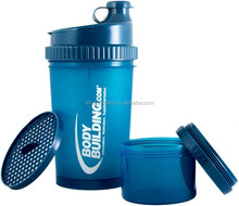 Hote-selling 25oz/700ml sports fitness protein blender shaker bottle with lids