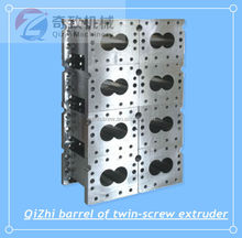 high quality 2015 best sells twin-screw of extruder,barrel screw of plastic extruder,twin-screw,single screw of exruder,extruder