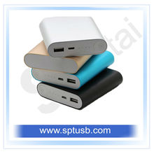Big capacity portable power bank,xiaomi power bank,manual for power bank 10400mah.