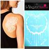 wholesale makeup 3D metallic flash tattoo /metallic temporary tattoo /body gold tattoo sticker