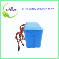 high rate 12V 2.6Ah Lithium Battery