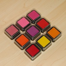 colorful mini craft ink pad