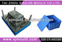 LXJ-2150 household plastic injection storge box with lid moulds,P20 steel folding storge box with lid moulds