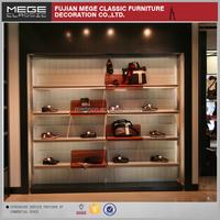 Retail Store Wall Mount Shoe Display Shelf