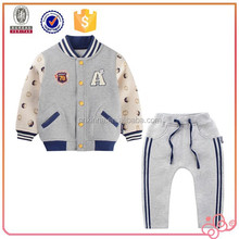 sport new design branded china factory winter kids clothes 2015