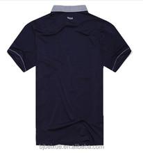 2015LEDENSWEISE short sleeved black polo t shirt ,black polo t shirt 100% cotton China factory