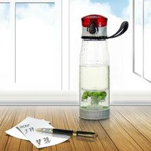 nuevo producto seguro de agua de plástico botella de botella de los deportes