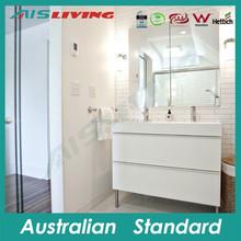 matt lacquer HMR MDF bathroom vanity Aluminium alloy feet