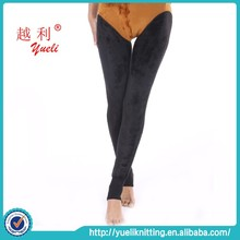 wholesale the warmest stylish colorful sexy women winter leggings (Black)