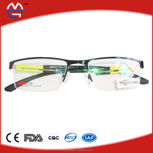Fashionable color TR Glasses Leg Metal Optical Eyeglasses Frame (MG419)