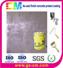 water-base fluorocarbon silver building wall paint/coating