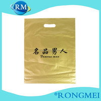 Cheap PE gold Color gravure printing Plastic bag