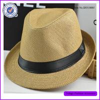 Latest Fashion Beach Braid Summer Straw Fedora Hat ,Straw Panama Hat