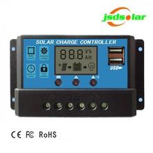 Smart casa sistema di illuminazione lifepo4 regolatore di carica solare, solare usb caricatore mobile controller
