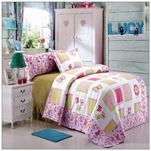 البوليستر فراشة سرير لحاف للبيع