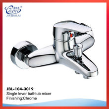 high quality chrome plated outdoor bathroom shower mixer faucet