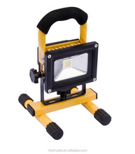 10W led flood light or led working light ip65 with CE