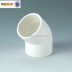 ASTM SCH40 PVC Pipe Fitting 45 Degree Elbow