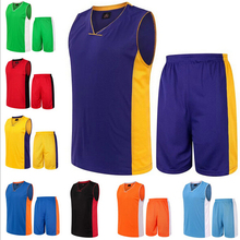 In-Stock 2015 Wicking Sports Athletic Basketball Jersey Wear Set