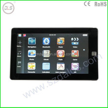 "7"" TFT LCD Touch Screen GPS for Cars, Resolution 800x480 MTK3351 GPS Navigation with Bluetooth, 7 inch GPS Navigator"