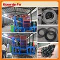 máquina de reciclaje de neumáticos de energía verde