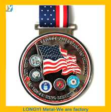 National Medal for your race,3D high quality race medals