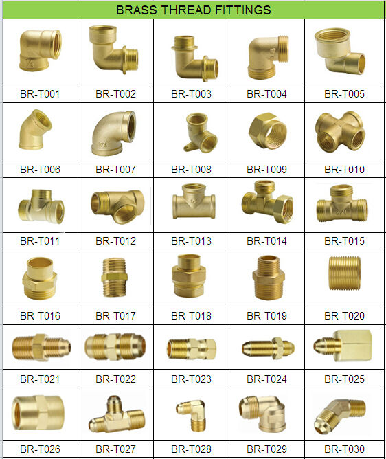 Brass swagelok compression fitting view degree pipe