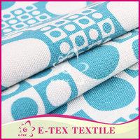 Garments fabric supplier Designer Woven poly cotton canvas fabric