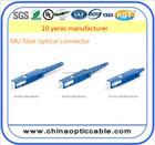 Made in china conector MU fibra óptica connector preço
