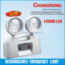 Rechargeable emergency sealed lead-acid battery channel light