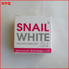 Popular Thailand Snail Wash soap, whitening Snail White Soap for all people