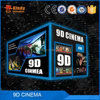 Mobile simulator 4d 5d 6d theater 7d cinema 9d simulator 12d x-rider