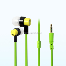 In-Ear Style and 3.5mm Connectors Colorful Earphone Stereo Promotion