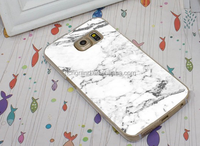 New hot Marble effect pattern hard case for samsung galaxy S6 edge