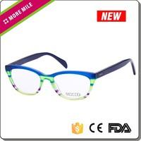 Custom acetate japanese eyeglass frame