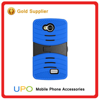 [UPO] Detachable 2 in 1 Hybrid Cover PC+Silicon Kickstand Case Mobile Back Cover For LG F60
