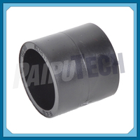 Plastic Plumbing Fittings Socket HDPE Coupler Joint Connector 25mm