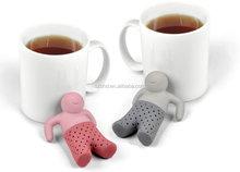 Fred and Friends Mr Tea FDA silicone tea infuser,mr tea infuser