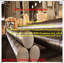 raw material manufacturer forged and tool steel M2/1.3343 Bar