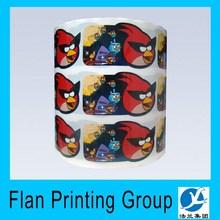 Advertisement Promotional Custom PVC self adhesive decal Die Cut Cartoon vinyl sticker