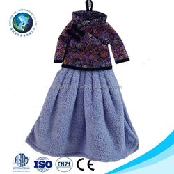 Customized wholesale japanese purple princess soft microfiber 100% organic cotton hand towel