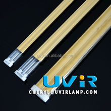 twin tube Gold Coated IR lamps for car paint heater dryers