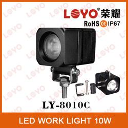 Mini LED 10w led work light motorcycle led headlight 10w led motorcycle light