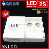 Hot new brighter LED moto headlight, all in one led headlight, ETI cxa1512 led headlight 30w 3600lm BAOBAO Lighting
