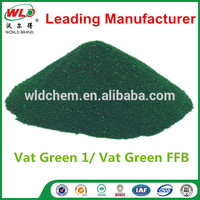Vat Green FFB/Green 1 Dyestuffs the names of the colors of hair dyes