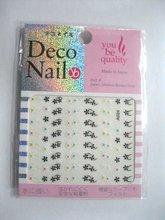 2012 NEW HOT sell 3D flower design nail art sticker