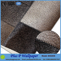 Plus P wallpaper with a pattern of bamboo for spa decoration