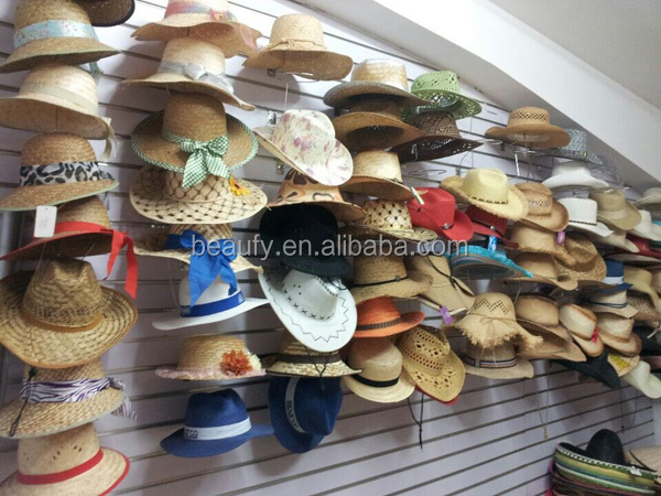 2014 handmade new style girls wooden handle straw bags