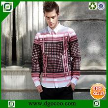 Camisa de coreano de lujo- diseño- los hombres- camisa de hierro no camisa